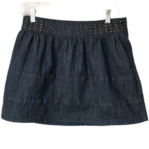 Juicy Couture Sz 30 Denim Skirt